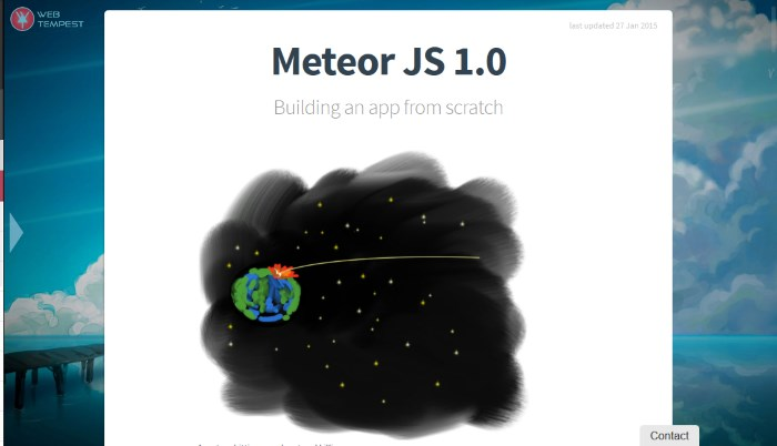 3-build-app-scratch-meteorjs