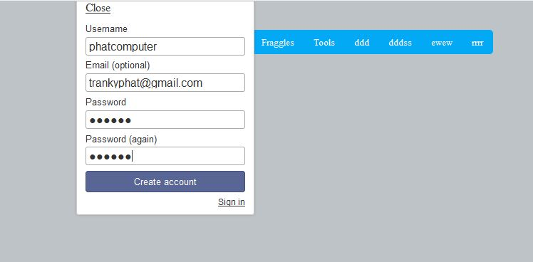 meteor add an admin account