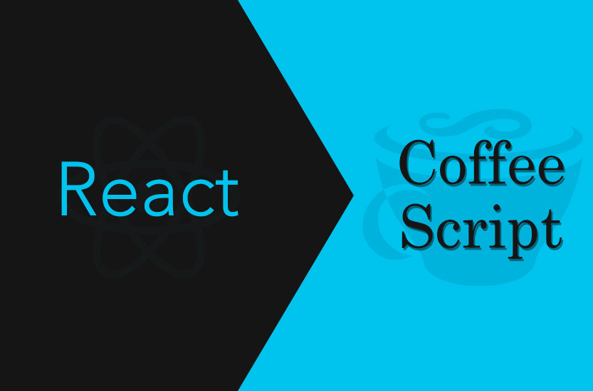 react coffeescript