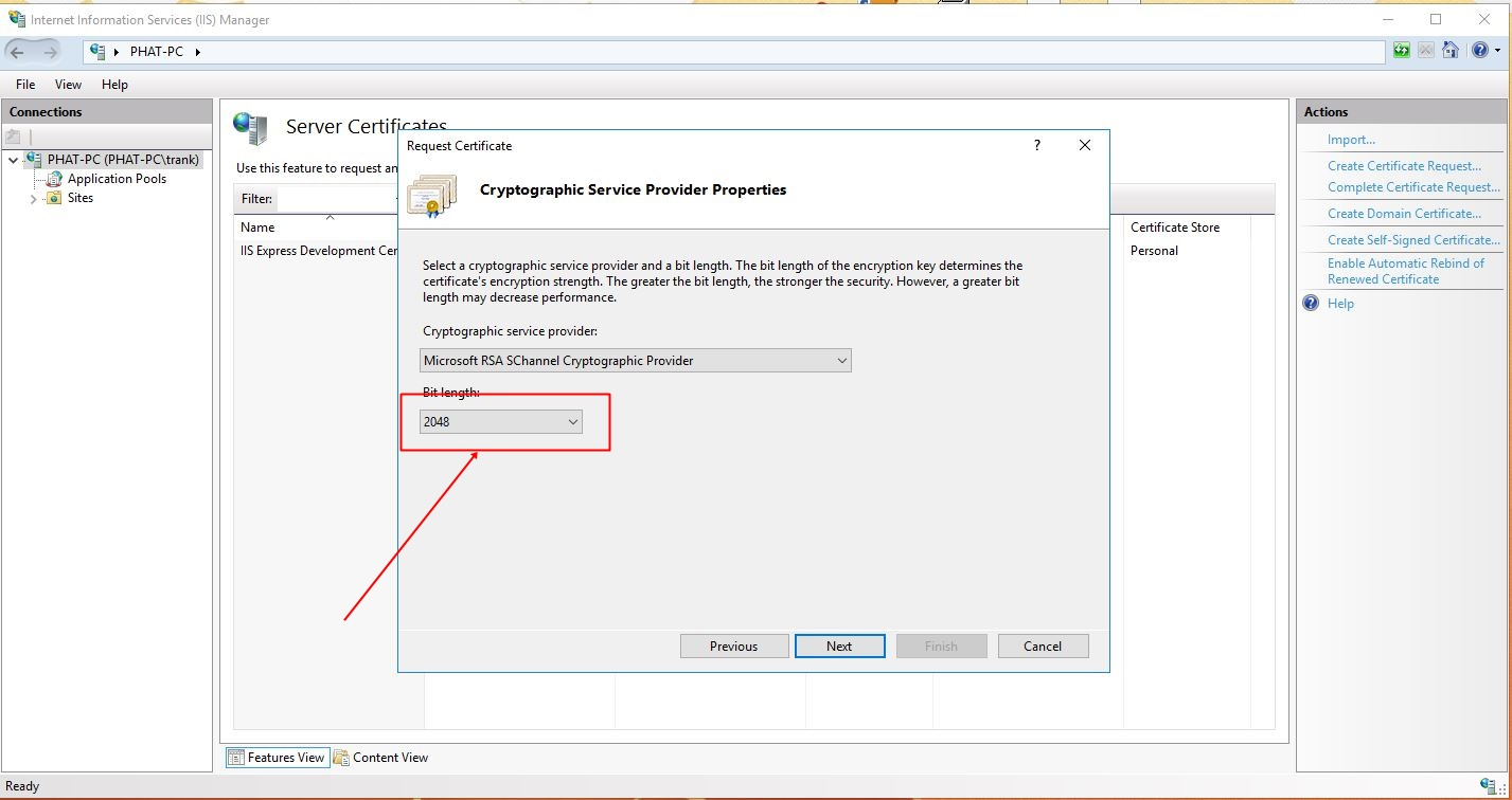 All About Ssl With Windows Iis And Asp Site Trn K Pht